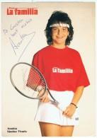 Autographe ARANTXA SANCHEZ VICARIO - Tennis