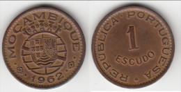 **** MOZAMBIQUE - PORTUGAL - 1 ESCUDO 1962 **** EN ACHAT IMMEDIAT !!! - Mozambique