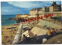 35 - SAINT  MALO - LES REMPARTS ET LA PLAGE DE BONSECOURS - Saint Malo