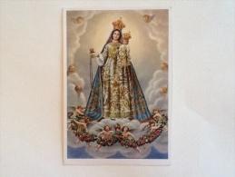 Beata Vergine Del Rosario --Fontanellato Parma Non Viaggiata F.g. - Vergine Maria E Madonne
