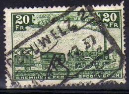 Oblitéré CF TR 197 Peruwelz 2 - 1923-1941