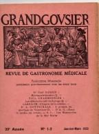Revue Gastronomie Médicale, 1953, 48 Pages, Mycogastronomie, Début Café Europe, Mariage Napoléon III - Gastronomie