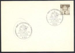 Germany Deutschland 1968 Card: Space Weltraum; #. Europ'aische Weltraumkonferenz - FDC & Gedenkmarken
