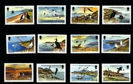 ISLE OF MAN - 1983  SEA BIRDS  I SET  MINT NH - Isola Di Man
