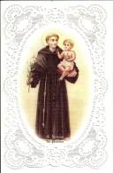 CANIVET N° RS26 SAINT ANTOINE DE PADOUE PARFAIT ETAT VERSO EN ITALIEN - Devotion Images