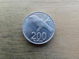 indonesie  200 rupiah  2003  km66
