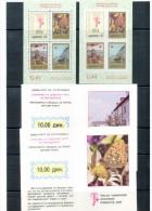 Jugoslawien / Yugoslavia / Yougoslavie 1991 Roten Kreuz / Red Cross Krebs / Cancer MH / Booklets Postfrisch / MNH - Neufs