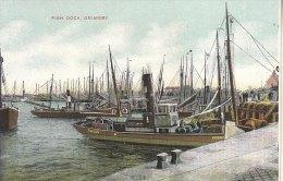 FISH DOCK GRIMSBY - Angleterre