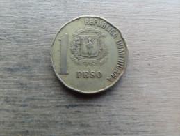Dominicaine  1 Pesos  2002  Km80 - Dominicana