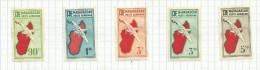 Madagascar (Af) Poste Aérienne N°16 à 24 Cote 4 Euros - Airmail