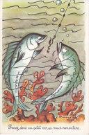 Prenez Donc Un Petit Ver, ça Vous Remontera (pêche, Poissons) - Humour