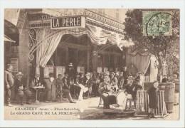 73 Dép.- Chambéry (Savoie) - Place Saint-Léger - Le Grand Café De La Perle. - Chambery