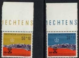 LIECHTENSTEIN /SERIE Du # 353au # 354 ** BORD DE FEUILLE /COTE 4.00 Euro (ref T1898) - Liechtenstein