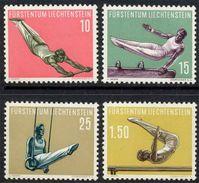 LIECHTENSTEIN /SERIE Du # 315 Au # 318 ** /COTE 47.50 Euro (ref T1900) - Liechtenstein