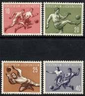 FOOTBALL / LIECHTENSTEIN / SERIE COMPLETE Du # 284 Au # 287 ** / Cote 60.00 Euro (ref T1902) - Liechtenstein