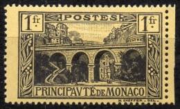 Monaco  Mi. 97  Eisenbahnviadukt St. Devote Mit Dampfzug * - Treni