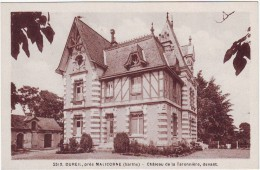 Dureil, Près Malicorne.  Chateau De La Taronnière... - Unclassified
