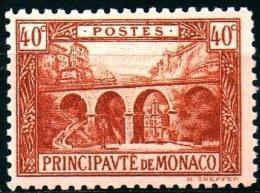 Monaco  Mi. 57  Eisenbahnviadukt St. Devote   ** / MNH - Treni