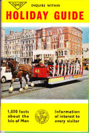 Holiday Guide Isle Of Man - Looks 1980-ies - Then 21p!! - Exploration/Travel