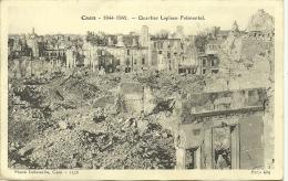 CAEN . 1944.1945.QUARTIER LAPLACE FREMENTEL - Caen