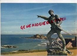 35 - SAINT MALO  - LA STATUE DE SURCOUF - Saint Malo