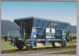 "SBB CFF Silowagen Für Kies Und Altglas ""Fcs-y""- Wagon-silo Pour Graviers Et Verre Usagé - Bahn - Railway - Trains - Trenes"