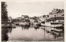 UPPSALA Motiv Fran Fyrisan, Hamnen, Fotokarte Um 1936 - Schweden