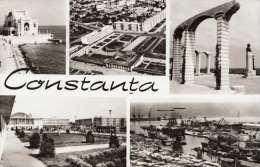 CONSTANTA (Rumänien) - Fotokarte, Sondermarke Gel.196? - Rumänien
