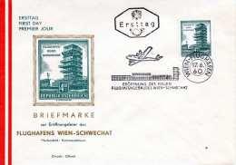 Österreich 1960 - FDC Eröffnung Des Neuen Flughafengebäudes In Wien-Schwechat - FDC