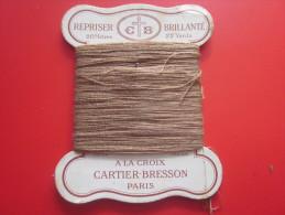 20 M. Coton REPRISER C+B BRILLANTé 22 YEARDS N°6 à La CROIX CARTIER-BRESSON NUANCE N° 363 PARIS Loisirs Créatifs 1930/40 - Stickarbeiten