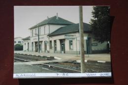 1 Photo - Gare De BLAINVILLE - Treinen
