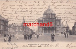 Belgique Saint Ghislain La Grand Place Et L Hotel De Ville éditeur Malbrun - Saint-Ghislain