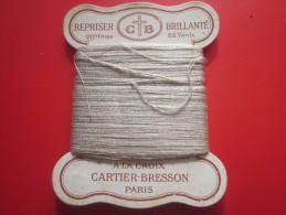 20 M. Coton REPRISER C+B BRILLANTé 22 YEARDS N°6 à La CROIX CARTIER-BRESSON NUANCE N° 98 PARIS Loisirs Créatifs 1930/40 - Punto De Cruz