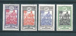 France Colonie Timbres D´Océanie De1922/27  N°50 + 53 + 55/56  Neufs - Neufs