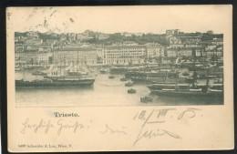 ITALY TRIESTE OLD POSTCRD #135 - Trieste