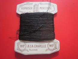 20 M. Coton REPRISER WF MERCERISé A LA CHAPELLE PARIS à La CROIX  NUANCE Loisirs Créatifs 1930/40 VINTAGE - Stickarbeiten