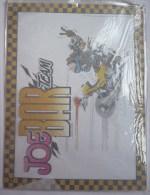 PLAQUE METALLIQUE - JOE BAR TEAM - BAR2  Années 2000 Pas émaillée - Werbeobjekte