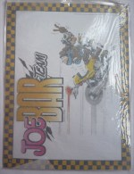 PLAQUE METALLIQUE - JOE BAR TEAM - BAR2  Années 2000 Pas émaillée - Advertisement