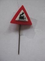 Pin Verkeersbord (GA6163) - Police