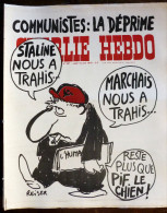 Charlie Hebdo. Cabu. Wolinski. Reiser. Gébé...N° 387. 1978 - Humour