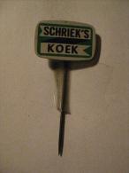 Pin Schriek's Koek (GA6327) - Alimentation