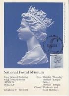 Great Britain 1983 National Post Museum 1v Maximum Card (19136) - Maximumkaarten
