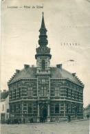 BELGIQUE - Lessines : Hôtel De Ville + Cachet Censure DÜLMEN & BRÜSSEL - Lessines