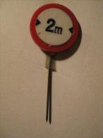 Pin Verkeersbord (GA6376) - Police