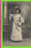 Lydia Colbrant in �Fortunio� 2 PostkaartenTh�atre Royal d�Anvers 7-3-1910  autographe