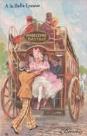 L'Omnibus A La Belle Epoque (illustrateur) - Cartoline