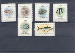 140017240  TONGA   YVERT  Nº  566/71  **/MNH - Tonga (1970-...)