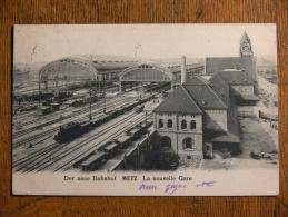 METZ (57) - La Nouvelle Gare (2) - Metz