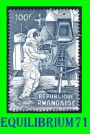 308A** - 1er Homme Sur La Lune / 1ste Man Op De Maan - RWANDA - 1962-69: Neufs