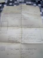CERTIFICAT DE VISITE MEDICAL DU SOLDAT RICARD LOUIS ST MAXIMIN LA SAINTE BEAUNE  MILITARIA - Dokumente